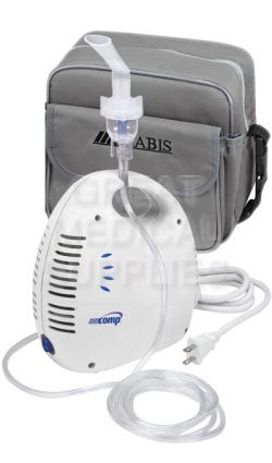 Mini Comp Compressor Nebulizer Kit With Tote Bag