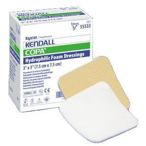 Copa™ Plus Hydrophilic Ultra-Soft Foam Dressing With Topsheet 2 X 2 Square