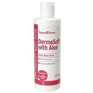 Ameriderm Dermasoft® Hand And Body Lotion With Aloe, Hypoallergenic, 8 Oz