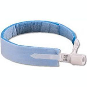 Dale® 240 Blue® Tracheostomy Tube Holder, Moisture-Repellent Neckband, Latex-Free, One Size Fits Most