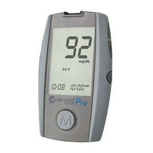 Simple Diagnostics Clever Choice™ Auto-Code Pro Blood Glucose Monitor, 3-16/47 X 2-1/25 X 23/39, No Coding