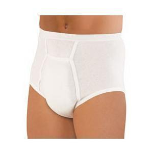 Hartmann Sir Dignity® Washable Brief With Built-In Protective Pouch Extra-Large, 42' To 44' Waist, Unisex