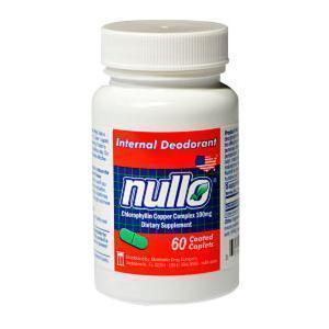 Nullo® Internal Deodorant Pills 60 Count