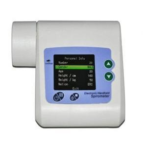Simpro Digital Lung Capacity Measuring Function Test Spirometer With Usb Connectivity