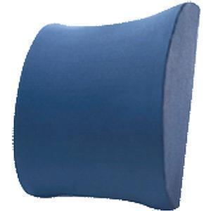 K2 Health Products Super Compressed Lumbar Support Cushion With Elastic Strap 13-1/2 L X 13 X 4 Thickness, Foam, Ergonomic Design