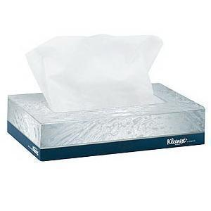 Kimberly-Clark Professional Kleenex® Facial Tissue Junior 8-2/5 X 5-1/2 White, Premium Quality, Soft And Home-Like Comfort