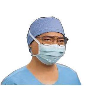 Kimberly-Clark Professional Anti-Fog Surgical Mask Green, With Derma-Touch Tape And Film Strip, Pleat-Style With Ties