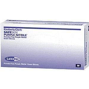 Kimberly-Clark Professional Safeskin® Nitrile-Xtra™ Nitrile Exam Gloves Small Purple, 12 L, 80mm W, Powder-Free, Latex-Free
