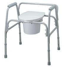 Commode Extra Wide 24in Wide 650 Lb Cap
