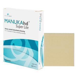 "Manukamed® Super Lite Honey Coated Absorbent Dressing, 4"" X 5"""