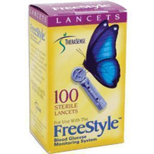 Therasense Freestyle Lancet 25g, Sterile