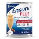 Product Photo: Abbott Nutrition Ensure® Plus® Ready-to-Drink Butter Pecan Institutional 8Oz Can, Gluten-free, Low Residue