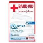 Product Photo: Band-Aid® First Aid Non-Stick Pad Medium