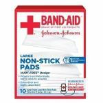 Product Photo: Band-Aid® First Aid Triple Layer Non-Stick Pad Large