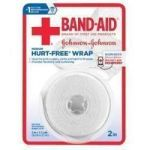Product Photo: Band-Aid® First Aid Hurt-Free® Wrap Medium