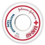 "Product Photo: Band-Aid® Waterproof Adhesive Tape 10 yds L x 1"" W"