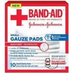 "Product Photo: Band-Aid® First Aid Gauze Pad, 2"" x 2"" Assorted Size, Small"