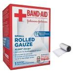 "Product Photo: J & J Band-Aid First Aid Rolled Gauze, 2"" x 2.5 Yards"