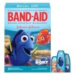 Product Photo: Band-Aid Decorative Finding Dory Assorted 20 ct.