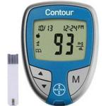 Product Photo: Contour™ Blood Glucose Monitoring System, Results in 5 Sec, No Coding Required, Auto Shut Off