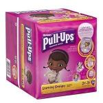 Product Photo: Huggies® Pull-Ups® Learning Designs® Training Pant, for Girl, Big Pack, 2T to 3T