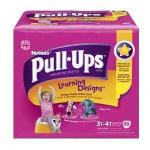 Product Photo: Huggies® Pull-Ups® Learning Designs® Training Pant, for Girl, Big Pack, 3T to 4T