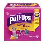 Product Photo: Huggies® Pull-Ups® Learning Designs® Training Pant, for Girl, Big Pack, 4T to 5T