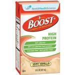 Product Photo: BOOST HIGH PROTEIN, Very Vanilla, 8 fl Ounce Tetra Brik - Item #: 854390094139