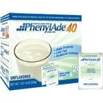 Product Photo: Applied Nutrition Corp PhenylAde® 40 Drink Mix 25g Pouch, 83 Calories, Unflavored