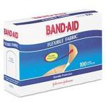"Product Photo: Conney Safety Products Direct Safety® Flexible Fabric Adhesive Bandages 3/4""x 3"""