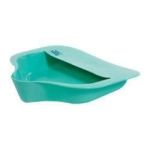 "Product Photo: Bariatric Bed Pan 15"" x 14-3/10"" W x 3"" H, 2 qt. Waste Capacity - Item #: AZ71128"