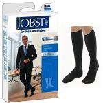 Product Photo: BSN Jobst® for Men Ambition Knee-High Compression Socks, 15 to 20 mmHg, Closed Toe, Size 3 Long, Black