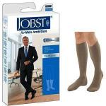 Product Photo: BSN Jobst® for Men Ambition Knee-High Compression Socks, 15 to 20 mmHg, Closed Toe, Size 3 Long, Khaki