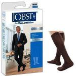 Product Photo: BSN Jobst® for Men Ambition Knee-High Compression Socks, 15 to 20 mmHg, Closed Toe, Size 3 Long, Brown