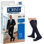 Product Photo: BSN Jobst® for Men Ambition Knee-High Compression Socks, 15 to 20 mmHg, Closed Toe, Size 3 Long, Navy