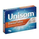 Product Photo: Unisom® SleepTabs® Nighttime Sleep-Aid Tablet