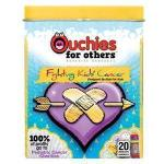 Product Photo: Ouchies Fight Against Pediatric Cancer Adhesive Bandages