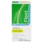Product Photo: CB Fleet Company Ready-to-Use Enema Laxative Saline 4-1/2 oz.