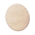 "Product Photo: Roscoe Medical Ultra Fine Oval Filter 4-3/4"" x 5-9/16"" For RespIronics Remstar Unit, White"