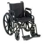 "Product Photo: Roscoe Revolution Mobility® K2 Standard Wheelchair 20"" W x 16"" D Seat"