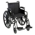 "Product Photo: Roscoe Revolution Mobility® Lightweight Wheelchair 20"" W x 16"" D Seat"