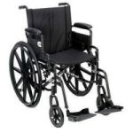 "Product Photo: Roscoe Revolution Mobility® High Performance Lightweight Wheelchair 20"" W x 16"" D Seat"