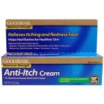 Product Photo: GoodSense Hydrocortisone 1% Max Strength Anti-Itch Cream, 1 oz. - Item #: GDDLP54164