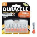 Product Photo: Optimal Duracell® EasyTab® Optimal Duracell® Hearing Aid Battery, DA13B8ZM10, 1.4V, Size 13