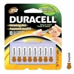 Product Photo: Optimal Duracell® EasyTab® Hearing Aid Battery, DA312B8ZM09, 1.4V, Size 312