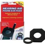 Product Photo: Health Enterprises Acu-Life® Hearing Aid Phone Pad, Comfort-Fit Design
