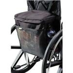 "Product Photo: Homecare Products Wheelchair Carry On Pouch 15"" L x 15"" x 5"" H, Black, Nylon"