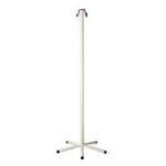 "Product Photo: I V League Medical Disposa-Pole™ IV Pole 70"" H, 2 Hook Top, 5 Leg Base"