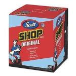Product Photo: SCOTT Shop Towels, POP-UP Box, Blue