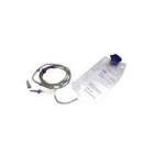 Product Photo: Amsino ALCOR® AMSure® Enteral Feeding Bag with Attached Gravity Set 1200mL, Locking Distal Tip